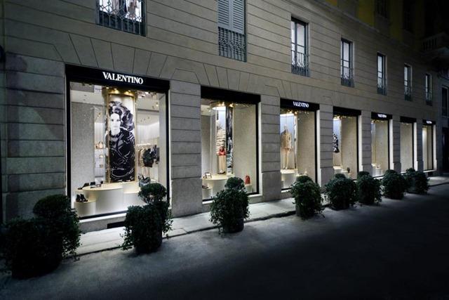Valentino New Store Concept Retail Design Paperblog