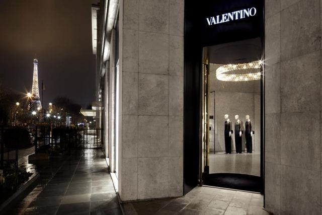 Valentino New Store Concept Retail Design Paperblog