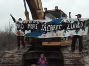 Oklahoma Grandmother Locks Herself Heavy Machinery Solidarity