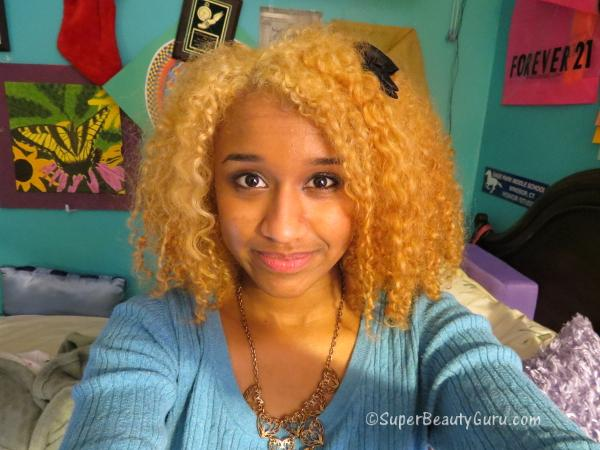 Blonde Mixed Girl