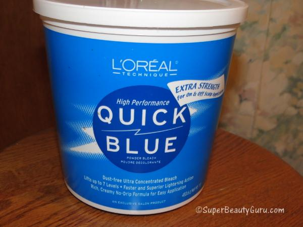 L'Oreal Quick Blue Hair Bleach