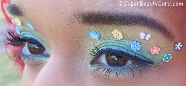 Floral Easter Makeup Tutorial