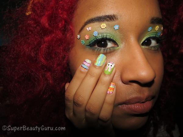 Easter Makeup and Nails