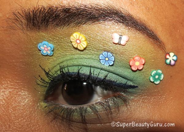 Floral Eye Makeup Tutorial