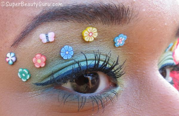 Colorful Spring Easter Makeup