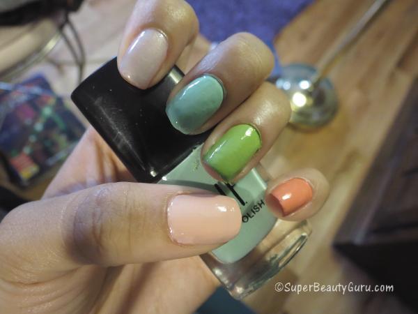 Pastel Nail Polish Nails