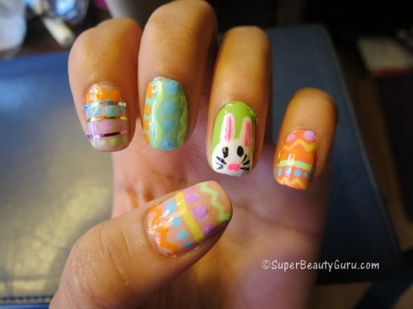 Easter Nail Design Tutorial