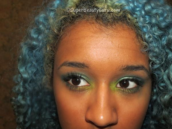 Green Makeup Tutorial