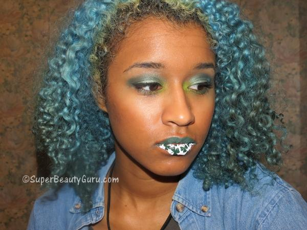 St. Patrick's Day Lip Tattoo Tutorial