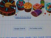 Even Google Wish Happy Birthday...