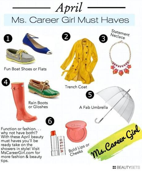 Beautysets - Ms. Career Girl April Must-Haves