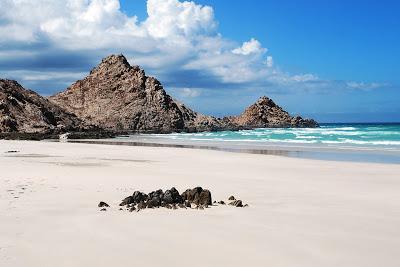 Socotra Yemen white sand beach