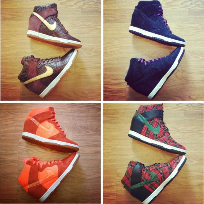 Lady Sneakerhead  My  Nike Dunk Sky High  Shoe Collection - Paperblog f375e579a149