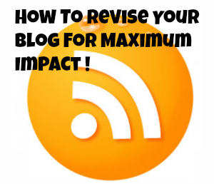 blog writing tips for revising your post