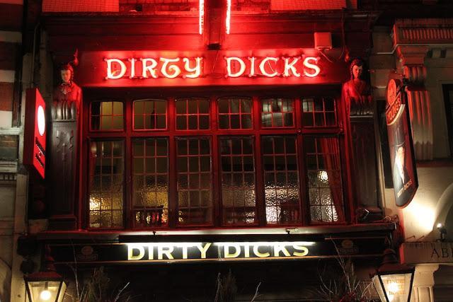 Dirty dicks restauraunt