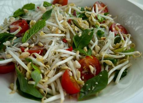 The freshness that a Glass Noodle Salad brings