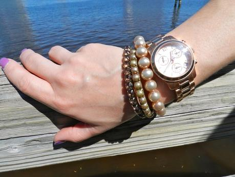Leather and Pearls
