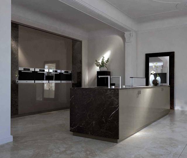 Luxurious Kitchens By Fendi Casa