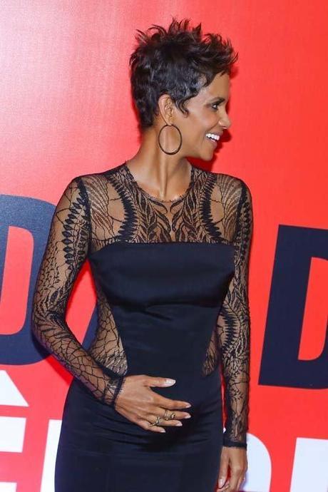Halle Berry at The Call Rio de Janeiro Premiere wearing Monique...