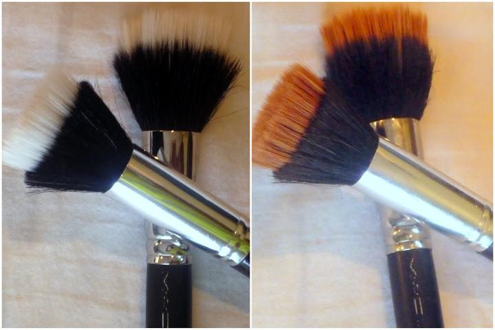 deep clean makeup brushes, clean makeup brushes quickly, clean makeup brushes quick, quick way clean makeup brushes