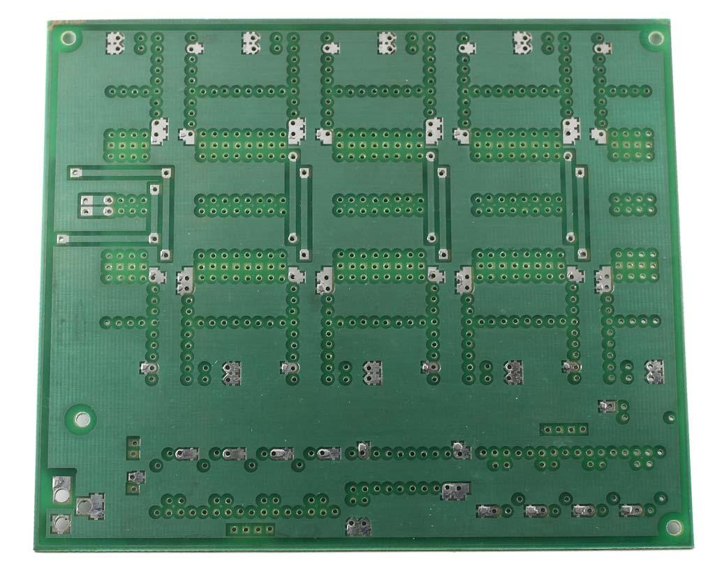 LED Cube Driver Circuit - Bare Board (Printed Circuit) - Front