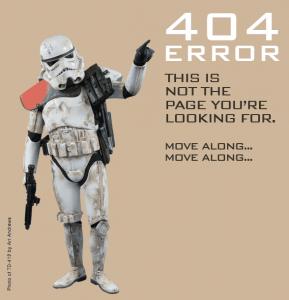 404 Page Not Found' - www_501st_com_404