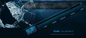 'Blizzard Entertainment - Error!'
