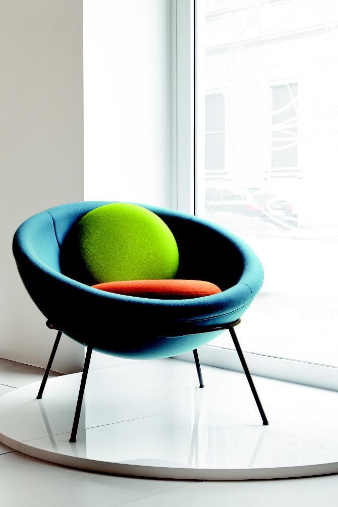 Bowl chair lina bo bardi 1951 sketches design for Lina bo bardi bowl