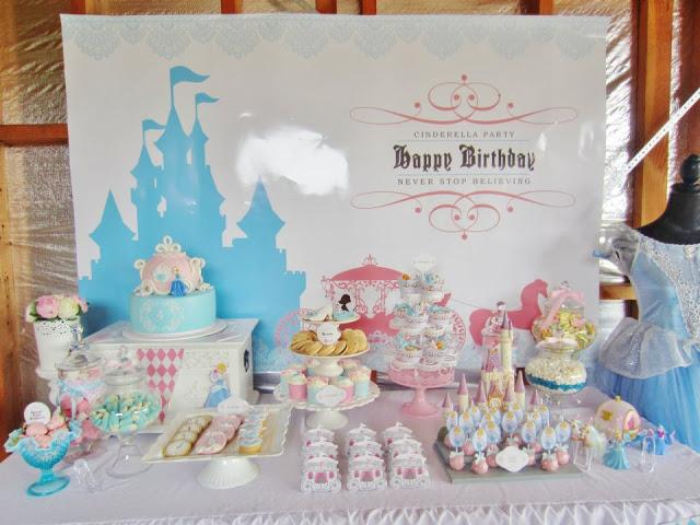 Peachy Cinderella Themed Party By Cakes By Joanne Charmand Paperblog Personalised Birthday Cards Petedlily Jamesorg