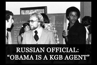 Image result for Obama K.G.B
