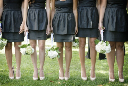 peplums bridesmaids dresses