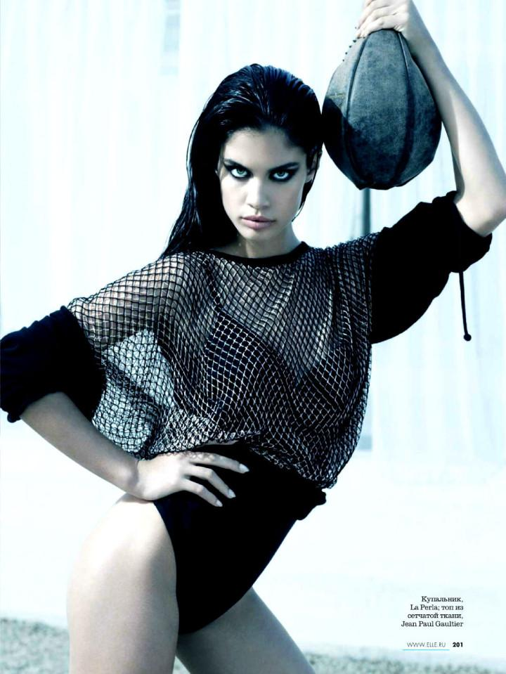Sara Sampaio by Kayt Jones for Elle Russia May 2013 8