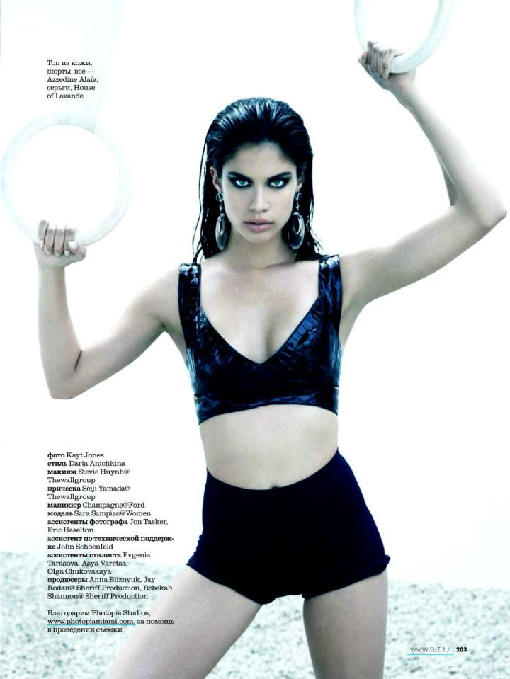 Sara Sampaio by Kayt Jones for Elle Russia May 2013 10