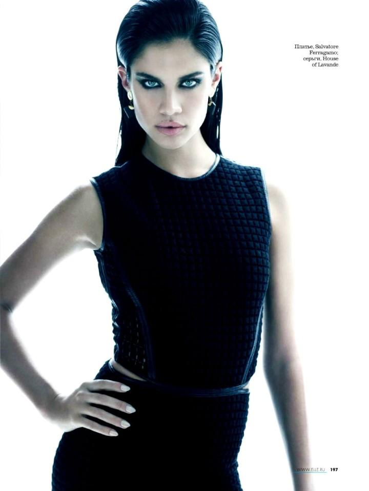 Sara Sampaio by Kayt Jones for Elle Russia May 2013 6