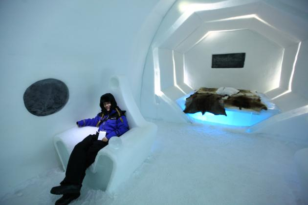 Stay at The Ice Hotel, Sweden - Paperblog