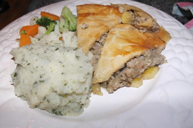 Pork Sausage and Apple Pie - Paperblog