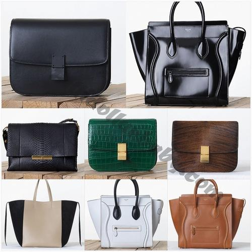 celine luggage tote online shop - Celine Fall 2013 Handbag Collection Includes a First Time Patent ...