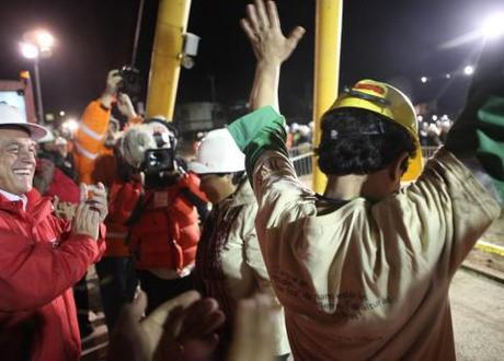 Violent protests in Chile; anniversary of the rescue of Chilean miners