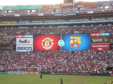 How Man v Food became Man Utd v Barcelona