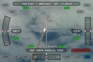 iPhone APP for NASA's Space shuttle launch.