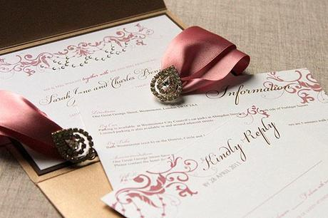 win luxury wedding invitations  paperblog, Wedding invitations