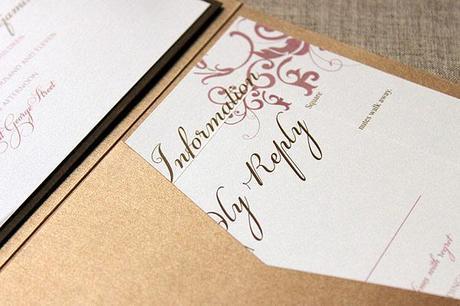 Wedding invitation suites from Leonie Gordon London (1)