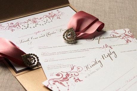 Wedding invitation suites from Leonie Gordon London (3)