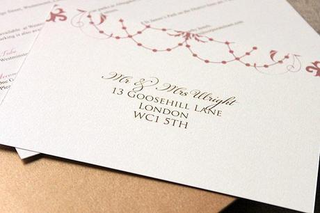 Wedding invitation suites from Leonie Gordon London (2)