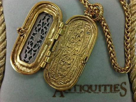 french locket necklace