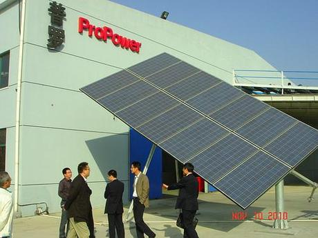 China Solar Gets a Boost