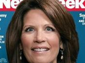 Queen Crazy? Michele Bachmann Wide-eyed Cover Newsweek