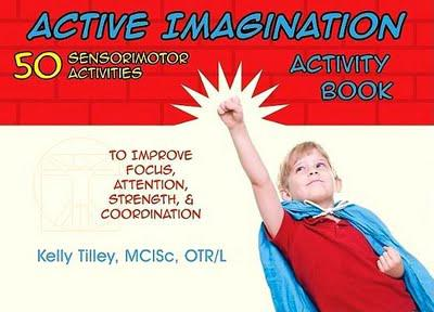 Book Review: Active Imagination Activity Book by Kelly Tilley