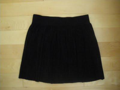 Pretty winter skirt