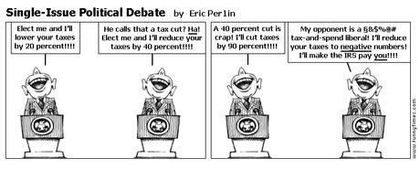 Single-Issue Political Debate by Eric Per1in